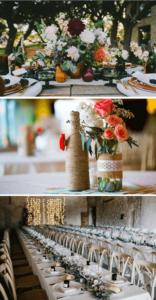 Hochzeitsblumen, Blumendeko, Blumenschmuck Hochzeit, Blumen Tischdeko