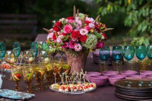 Hochzeitsblumen, Blumendeko, Blumenschmuck Hochzeit