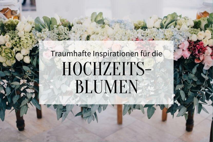 Hochzeitsblumen, Blumendeko, Blumenschmuck Hochzeit,