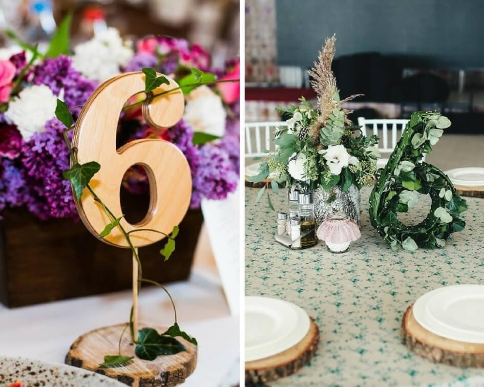18 Kreative Tischnummern Fur Die Hochzeit Hochzeitskiste