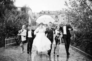 Hochzeit-Notfallplan, Hochzeitsvorbereitungen, Hochzeit Regen, Hochzeit Wetter