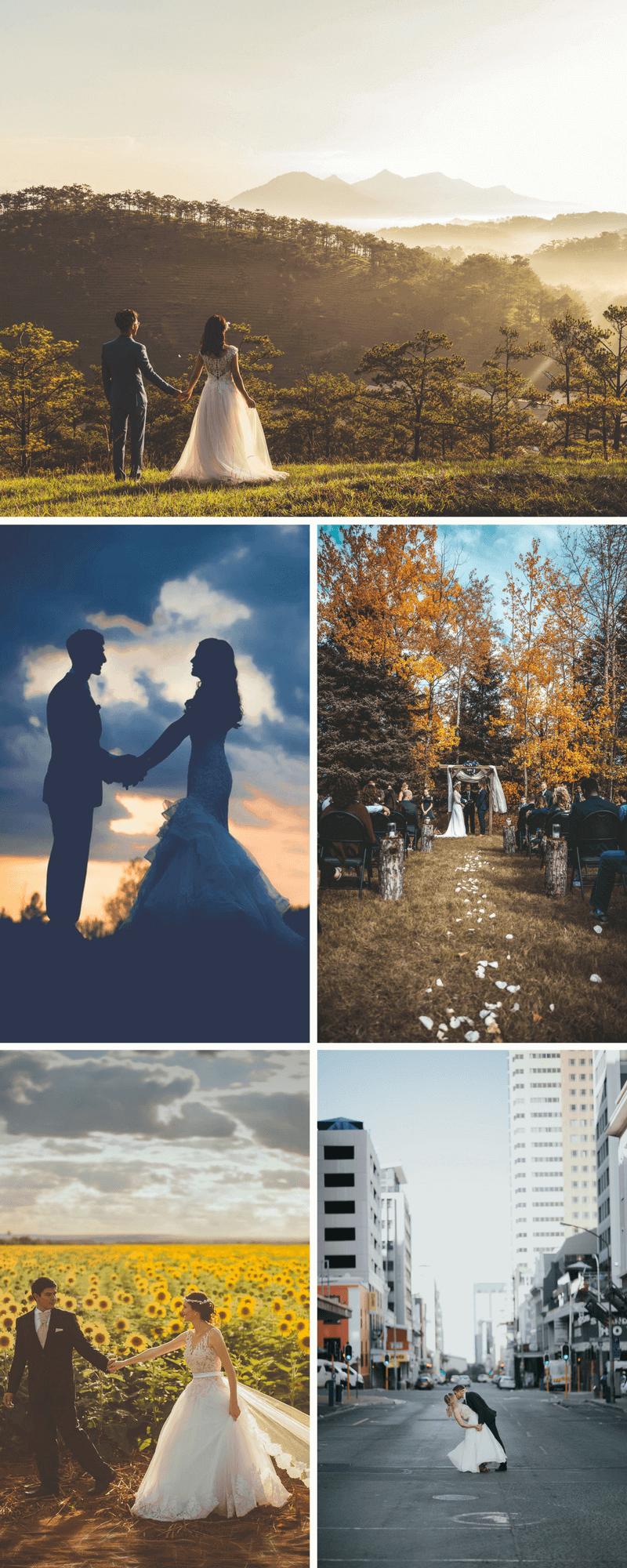 Fabelhaft Ideen Für Hochzeitsfotos Referenz Von Diese Fotos Beweisen, Wie Wichtig Die Location