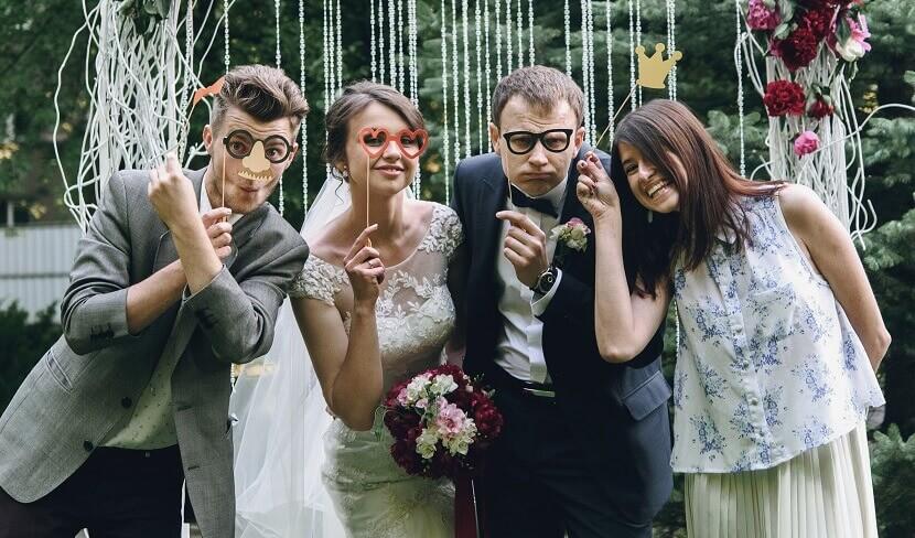 Prächtig 11 geniale Ideen zur Unterhaltung der Hochzeitsgäste - Hochzeitskiste @ME_53