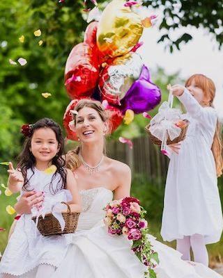 Kinder auf der Hochzeit, Hochzeit mit Kindern, Hochzeitsideen Kinder