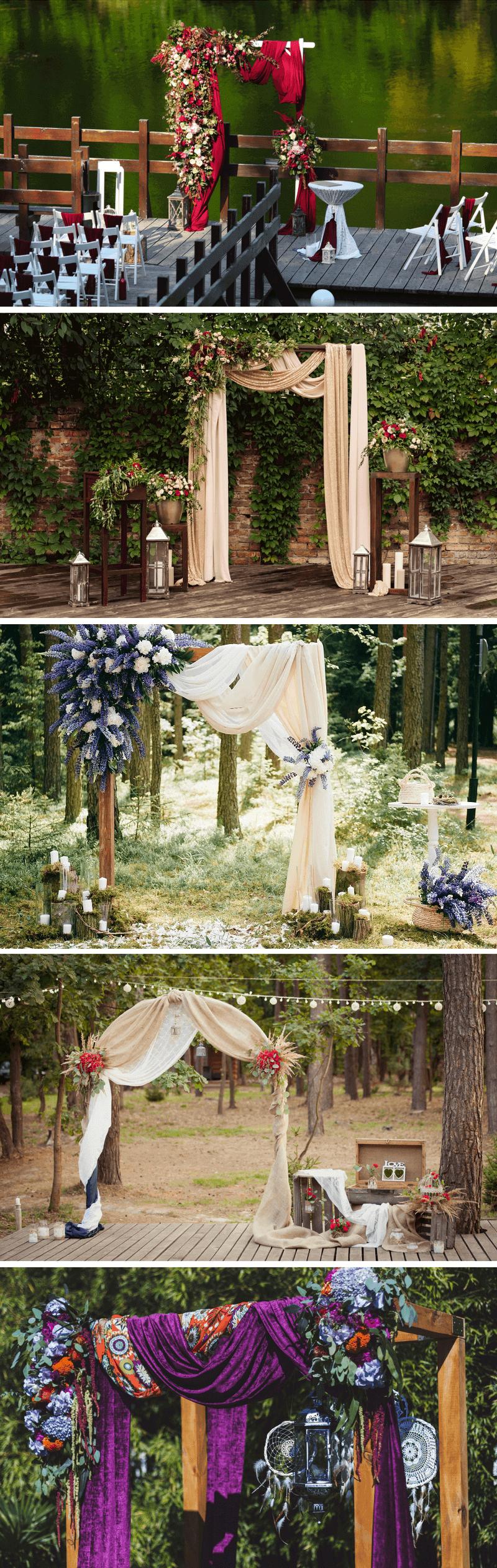 Hochzeitsbogen 30 Coole Inspirationen Hochzeitskiste