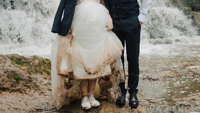 4 Tipps für schöne Hochzeitsfotos bei Regen - ROCKSTEIN