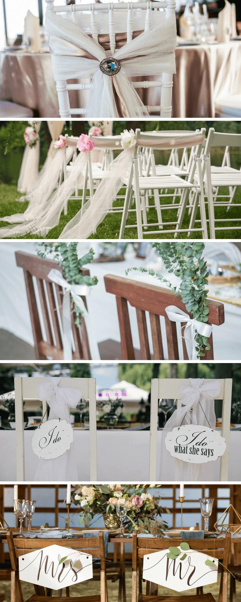22 Einfache Diy Stuhldeko Ideen Fur Die Hochzeit Hochzeitskiste