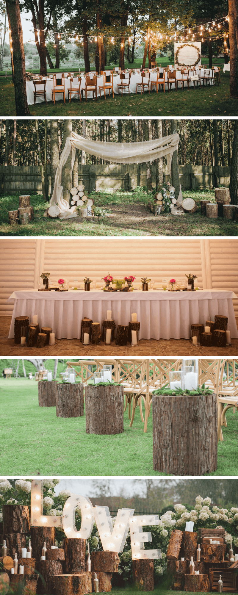 35 Ideen Fur Eine Rustikale Hochzeitsdeko Aus Holz Hochzeitskiste