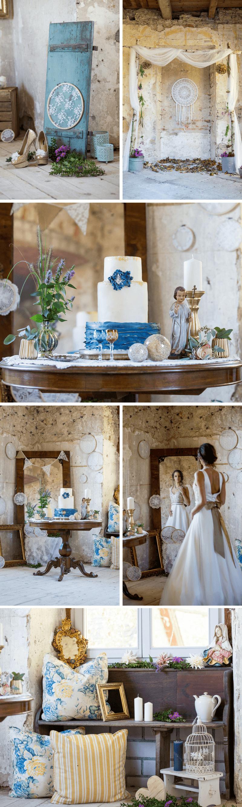 Hochzeit im Schloss, Vintage-Hochzeit