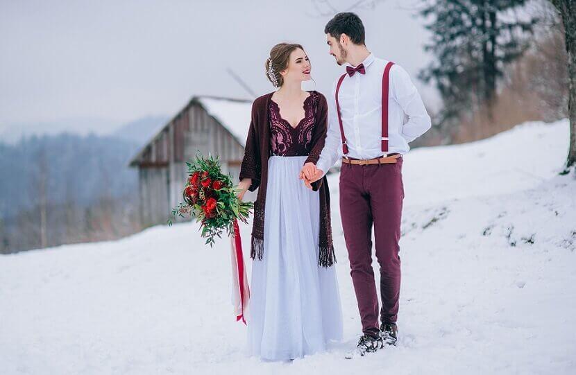 Hochzeit In Bordeaux Rot Festliche Inspirationen Hochzeitskiste