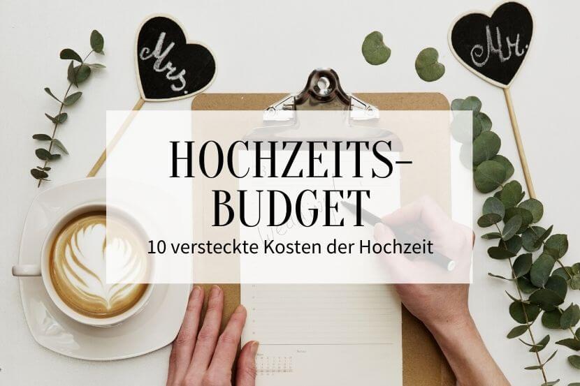 Hochzeitsbudget 10 Versteckte Kosten Der Hochzeit Hochzeitskiste