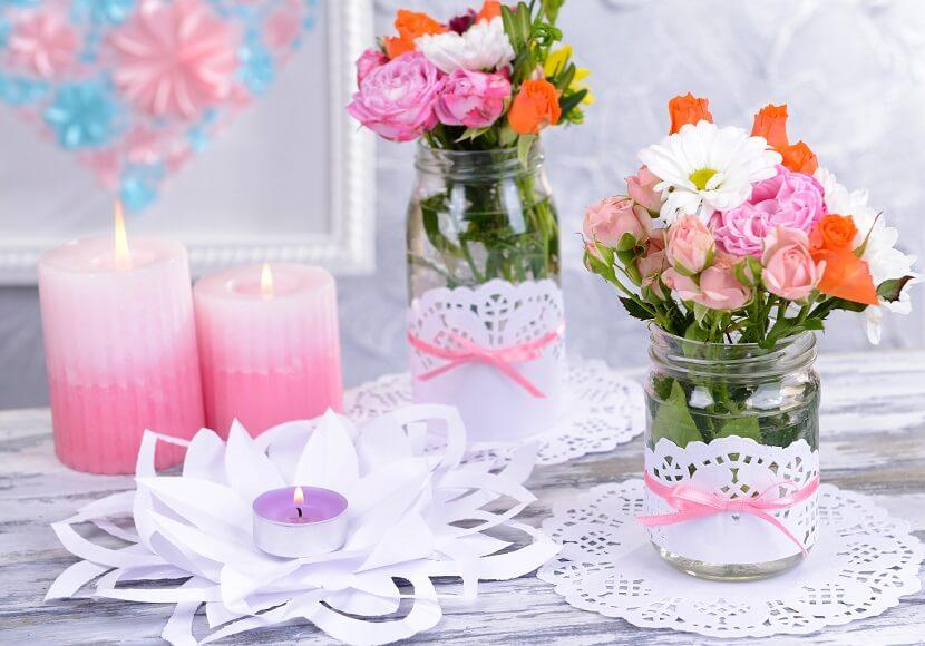 17 geniale DIY Hochzeitsdeko-Ideen für ein kleines Hochzeitsbudget