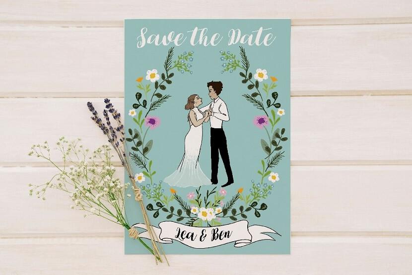 originelle Hochzeitsideen, Hochzeitsportrait