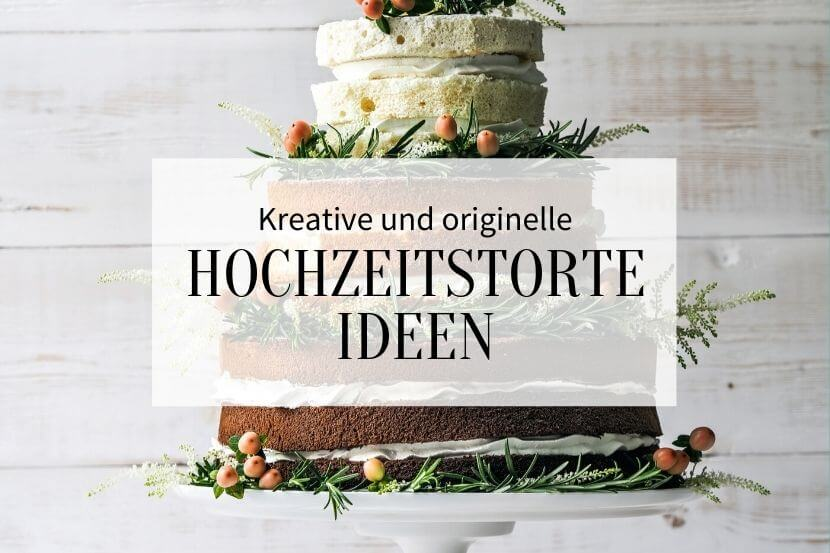 Kreative Hochzeitstorten