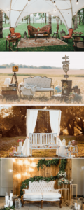 Hochzeitslounge, originelle Hochzeitsdeko