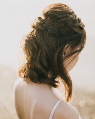 Brautfrisur kurze haare, brautfrisur mittellange haare
