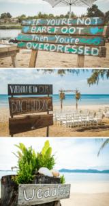 Strandhochzeit, maritime Hochzeit, Hochzeit am Strand, Hochzeit am Meer