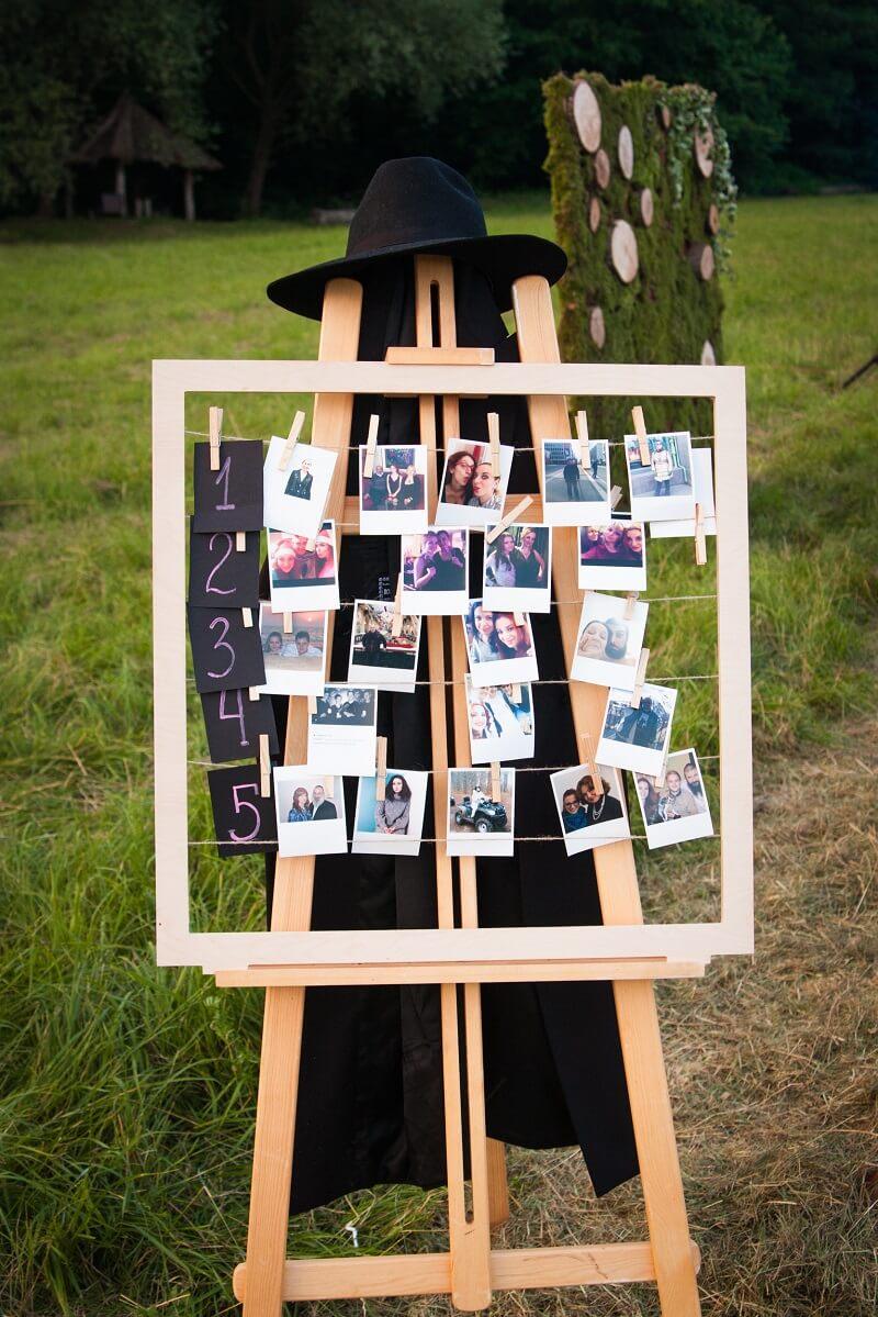 DIY Sitzplan Polaroid