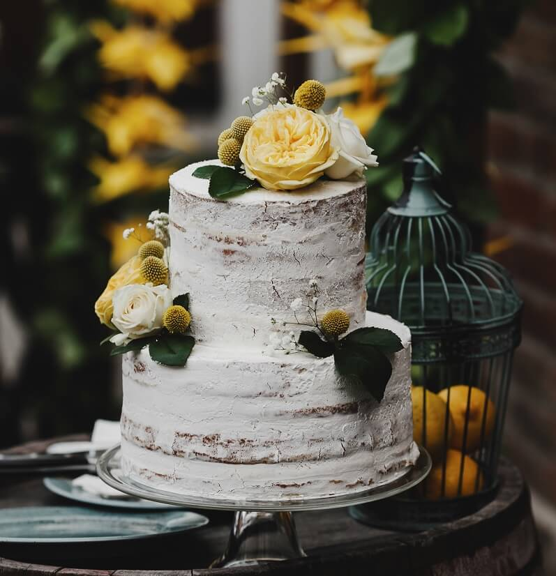 Hochzeit in Gelb, Hochzeitsdeko gelb, Hochzeitsblumen gelb