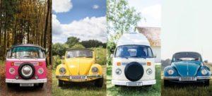 originelle Hochzeitsautos
