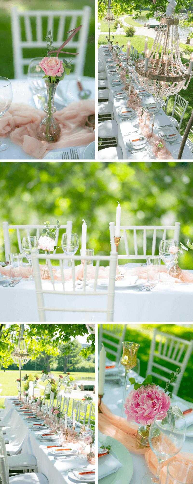 Vintage Hochzeit In Pastell Rosa Und Pfirsich 4 Hochzeitskiste