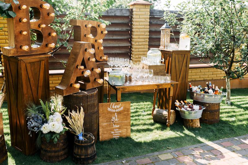 Hochzeitsbar Ideen