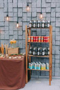 Hochzeitsbar, Salty Bar Ideen