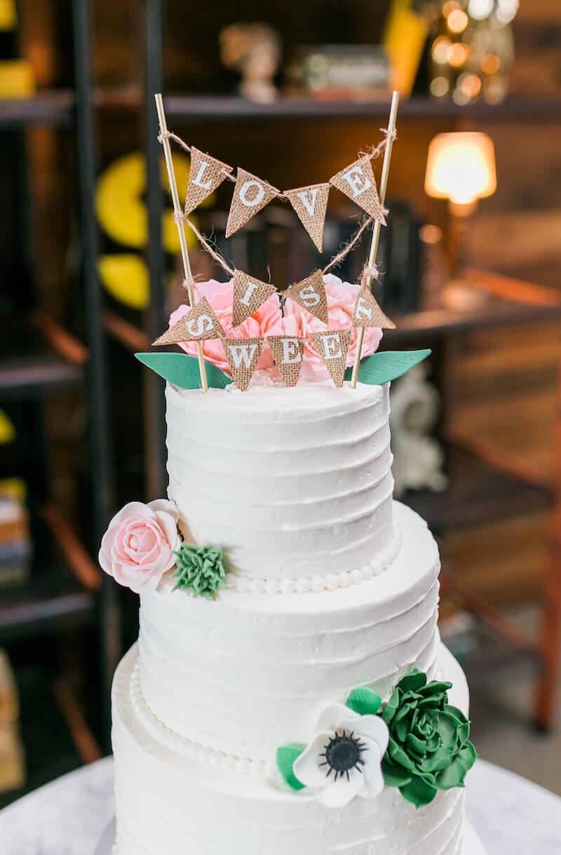 Hochzeit Girlande