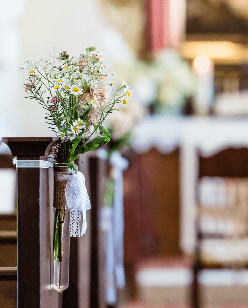 Kirchendeko Hochzeit Hochzeitskiste 12 Hochzeitskiste