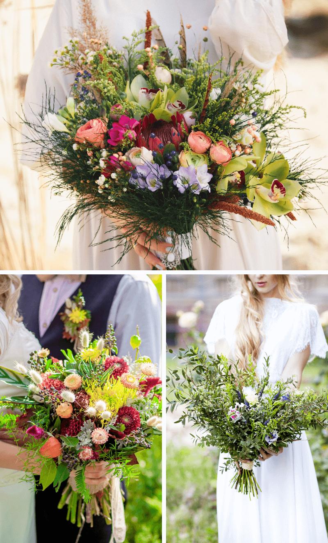 Wildblumen Dekoideen Fur Rustikale Hochzeiten