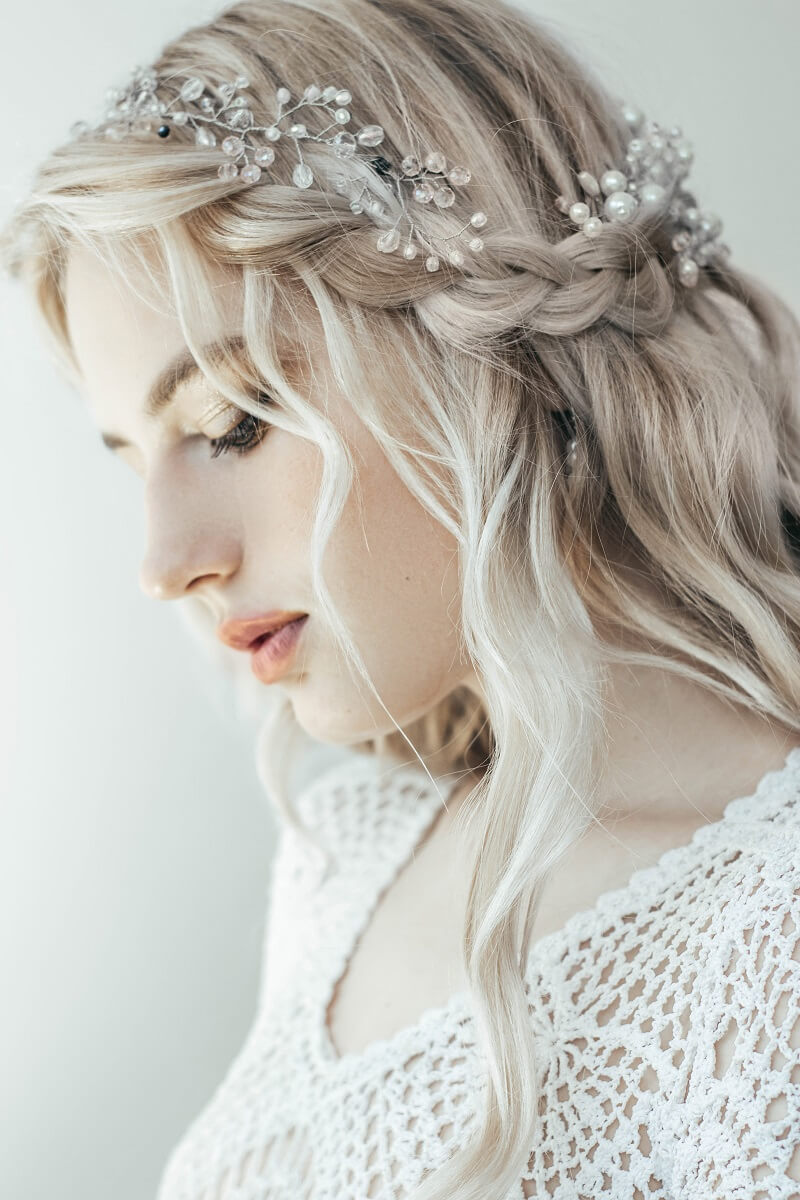 Brautfrisur geflochten? 10 kreative Ideen - Hochzeitskiste