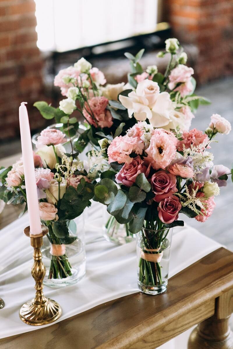 Wedding Table Decoration Rustic Style Hochzeitskiste