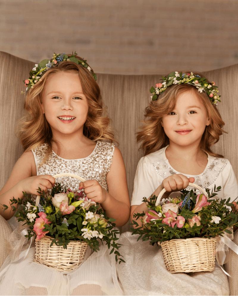 Blumenkinder auf der Hochzeit: Tipps und Ideen - Hochzeitskiste
