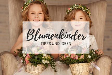 Blumenkinder Hochzeit, Blumenkinder Ideen, Hochzeit Kinder