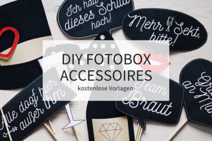DIY Fotobox Accessoires, Fotobox Schilder kostenlos, Vorlagen Fotobox Accessoires