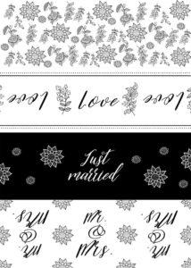 DIY Hochzeit, Blechdosen Hochzeitsauto, Blechdosen Hochzeit, Dosen Etiketten Hochzeit