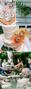 Tiki Hochzeit bunt, Hochzeit exotisch, Hochzeit tropisch, Sommerhochzeit, Hochzeitsfarben