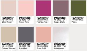 Hochzeitsfarben Trends, Hochzeit Farben, Hochzeitsinspirationen Farbpaletten, Hochzeitstrends