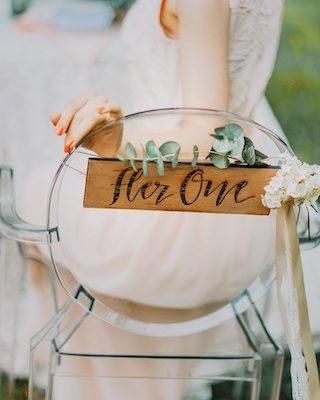 Hochzeit Stuhldeko