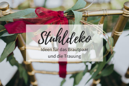 Hochzeit Stuhldeko, Dekoration Stühle Hochzeit, Deko Stühle