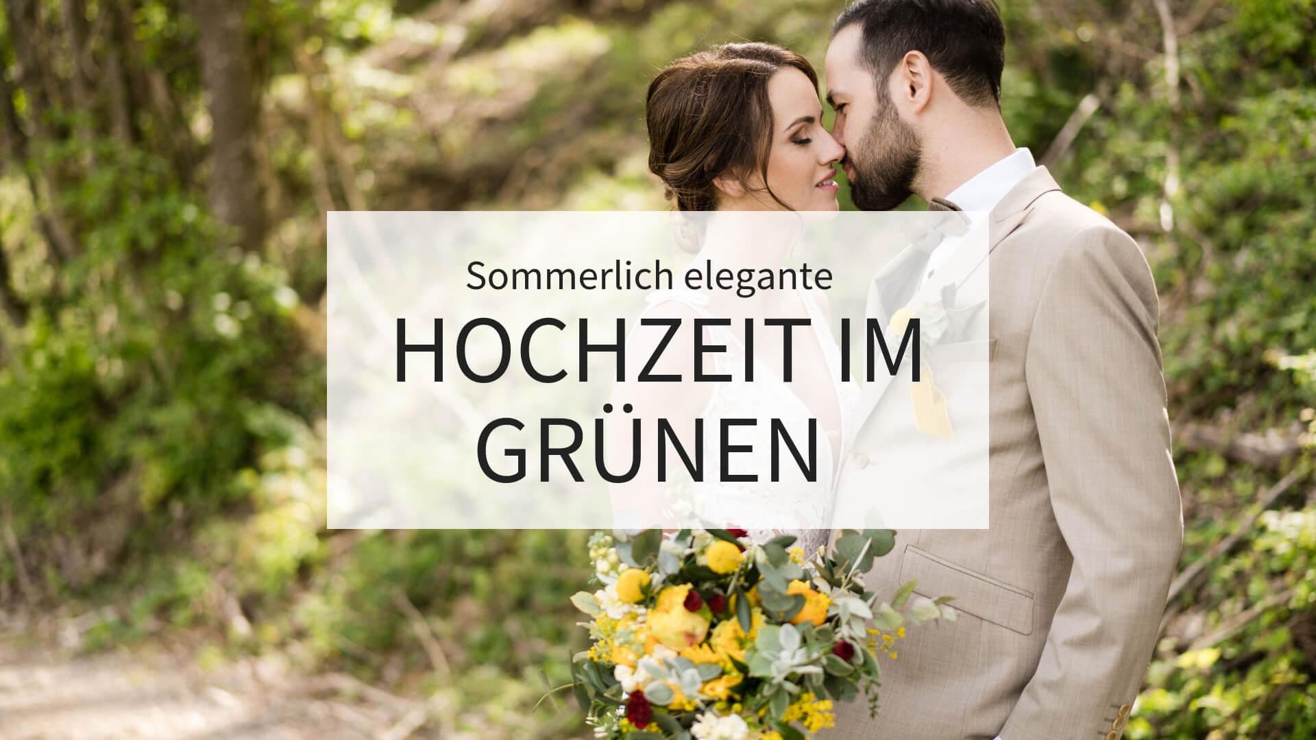 Hochzeit im Grünen, Hochzeit elegant, Hochzeit grün, Hochzeit gelb, Hochzeit gold