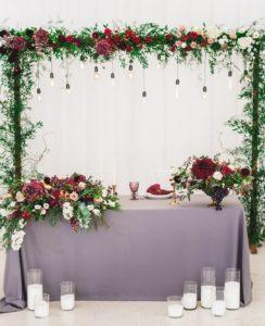 Hochzeit Brauttisch