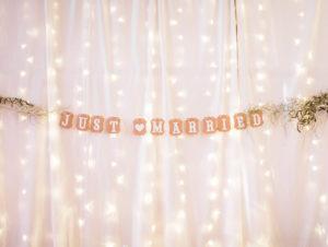 Brauttisch Hintergrund