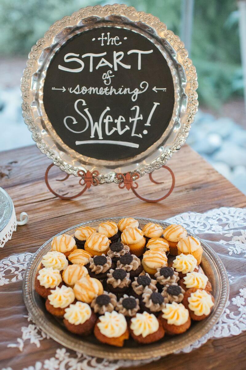 Hochzeit Schild Candy Bar