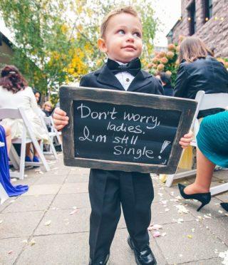 Blumenkind Schild, Kinder Trauung Hochzeit