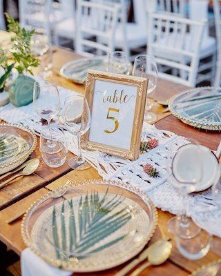 Makramee Hochzeitsideen