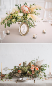 Tischdeko Hochzeit Pampasgras