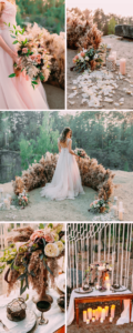 Boho Hochzeitsdeko Pampasgras