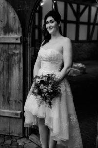 Brautstyling rockig, Braut rockig, rockige Hochzeit,
