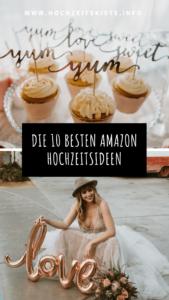 Amazon Hochzeitsdeko, Hochzeitsideen